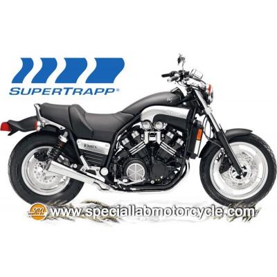 Slip On Supertrapp Superlight Cromo 2 in 1 Yamaha VMX 1200 VMAX 1985-2007