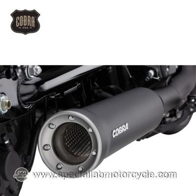 Finale di scarico Cobra Slip On Muffler 102mm Yamaha XV950 Bolt