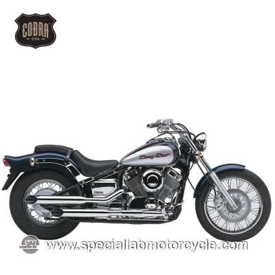 Sistema di scarico Cobra Slash Cut Classic Yamaha XVS650 Drag Star Classic/V-Star Classic/Custom