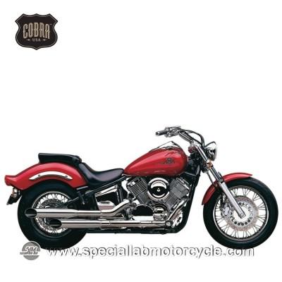 Sistema di scarico Cobra Slash Cut Classic Deluxe Yamaha XVS1100 Drag Star Classic/V-Star Classic/Custom