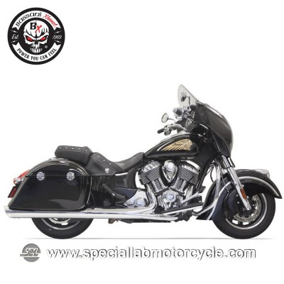 "Bassani Finali di Scarico Slip On 4"" per Indian Chieftain/Roadmaster"