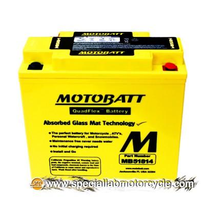 Batteria Sigillata MotoBatt MB51814 12V-22Ah per BMW