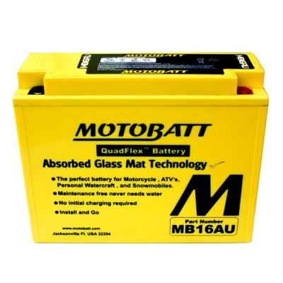 Batteria Sigillata MotoBatt MB16AU 12V-20,5Ah per Ducati