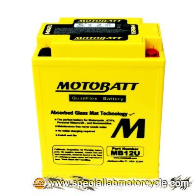 Batteria Sigillata MotoBatt MB12U 12V-15Ah per Honda