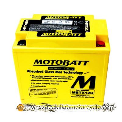 Batteria Sigillata MotoBatt MBTX12U 12V-14Ah per Honda