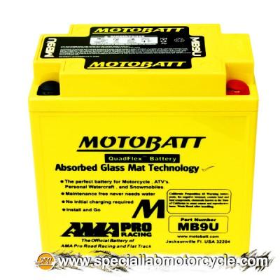 Batteria Sigillata MotoBatt MB9U 12V-11Ah per Moto Morini