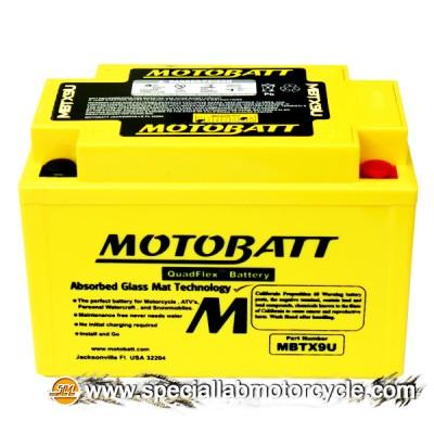 Batteria Sigillata MotoBatt MBTX9U 12V-10Ah per Suzuki