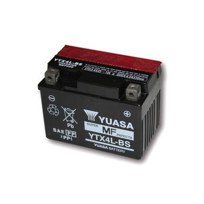 Batteria Sigillata Yuasa YTX 4L-BS 12V-50A