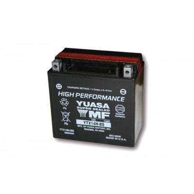 Batteria Sigillata Yuasa YTX 14H-BS 12V-240A