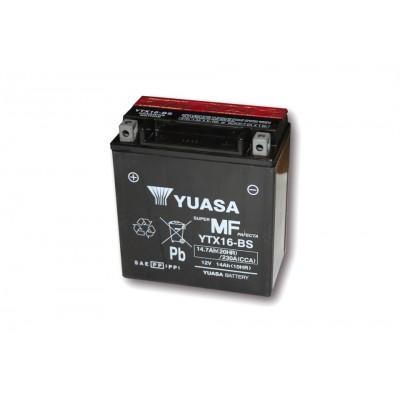 Batteria Sigillata Yuasa YTX 16-BS 12V-230A