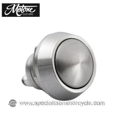 Motone Custom Micro Switch Momentary 1 Pulsante Cromato