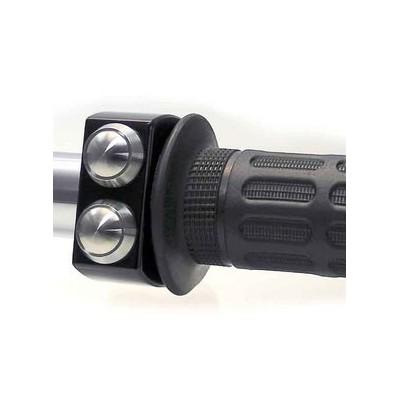 Pulsantiera Motogadget 1'' M-Switch 2 Push Button Black/Silver