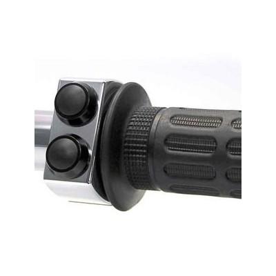 Pulsantiera Motogadget 1'' M-Switch 3 Push Button Silver/Black