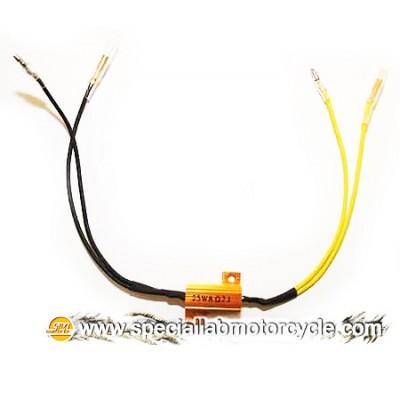 Resistore per Frecce Led da 8,2 Ohm/25 Watt