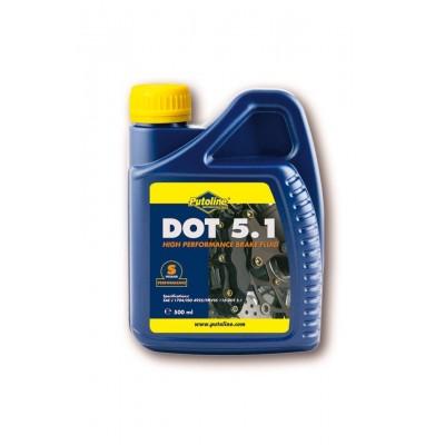 Olio Freni e Frizione Putoline DOT 5.1 da 0,50lt