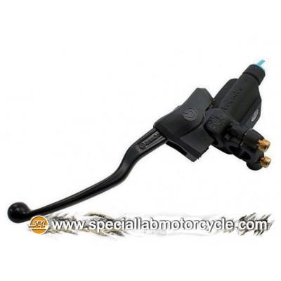 Pompa Freno Anteriore Brembo PS12 Con Serbatoio