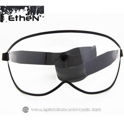Maschera Ethen Vintage Visor Black/Gray