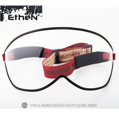 Maschera Ethen Vintage Visor Red Beige