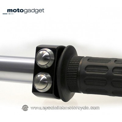 Motogadget M-Switch 3 Pulsanti Black & Silver