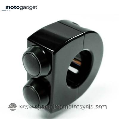 Motogadget M-Switch 2 Pulsanti Black