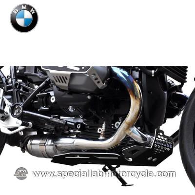 Piastra Paramotore Ibex per BMW R Nine / 1200GS Black