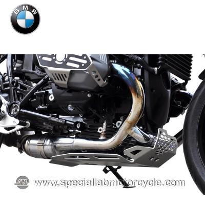 Piastra Paramotore Ibex per BMW R Nine / 1200GS Silver