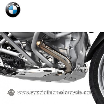 Piastra Paramotore Ibex per BMW R 1200GS Silver