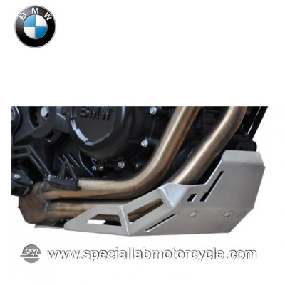 Piastra Paramotore Ibex per BMW F800GS Silver