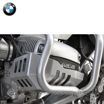 Piastra Paramotore Cilindro Ibex per BMW R 1100 GS Silver