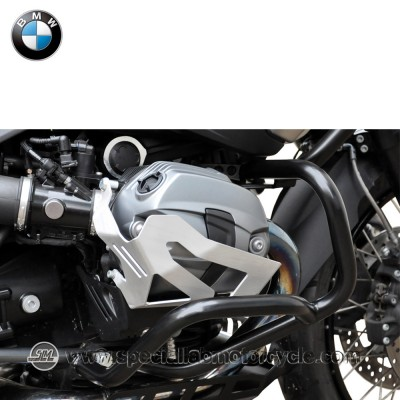 Piastra Paramotore Cilindro Ibex per BMW R 1200 GS Adventure Silver