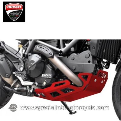 Piastra Paramotore Ibex per Ducati Hypermotard/Hyperstrada 821 Red