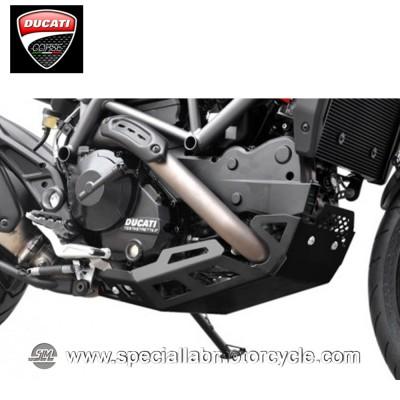 Piastra Paramotore Ibex per Ducati Hypermotard/Hyperstrada 821 Black
