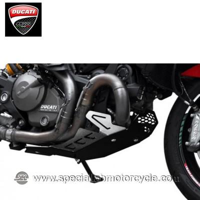 Piastra Paramotore Ibex per Ducati Monster 821 Black