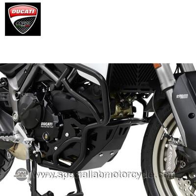 Piastra Paramotore Ibex per Ducati Multistrada 950 Black