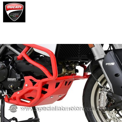 Piastra Paramotore Ibex per Ducati Multistrada 950 Red