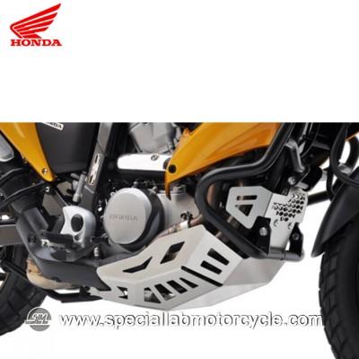 Piastra Paramotore Moto Ibex per Honda Transalp XL 700 Silver