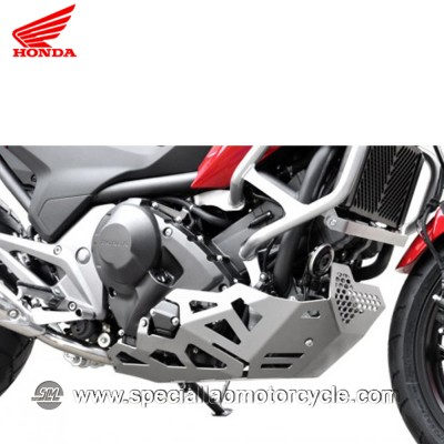 Piastra Paramotore Moto Ibex per Honda NC 700/750 Silver