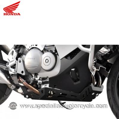 Piastra Paramotore Moto Ibex per Honda Crossrunner VFR 800 Silver