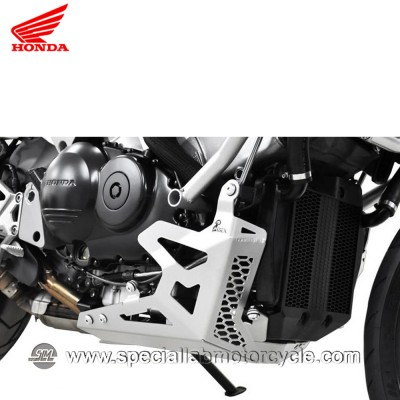 Piastra Paramotore Moto Ibex per Honda Crossrunner VFR 800X Silver