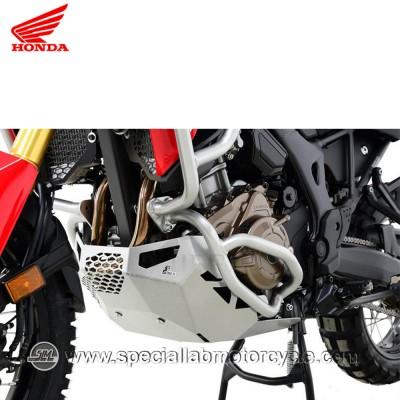 Piastra Paramotore Moto Ibex per Honda CRF 1000L Africa Twin Silver