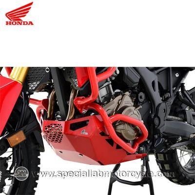 Piastra Paramotore Moto Ibex per Honda CRF 1000 Africa Twin Red