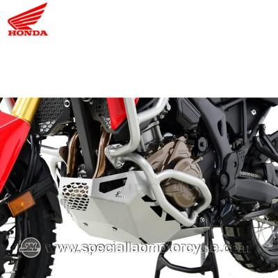 Piastra Paramotore Moto Ibex per Honda CRF 1000 Africa Twin Silver