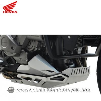Piastra Paramotore Moto Ibex per Honda VFR 1200X Crosstourer Silver