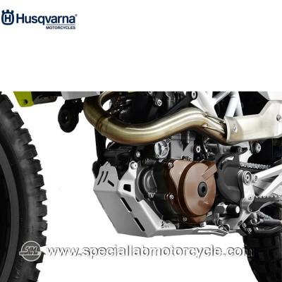 Piastra Paramotore Moto Ibex per Husqvarna Enduro 701 Silver