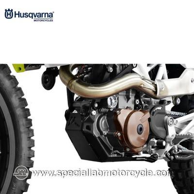 Piastra Paramotore Moto Ibex per Husqvarna Enduro 701 Black