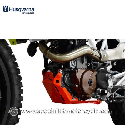 Piastra Paramotore Moto Ibex per Husqvarna Enduro 701 Orange