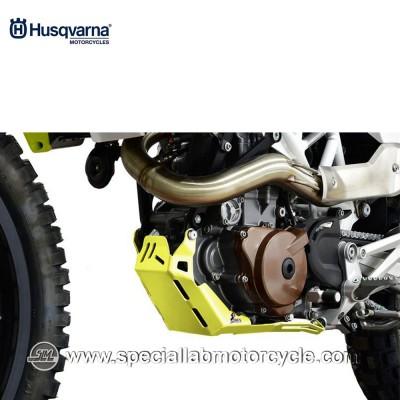 Piastra Paramotore Moto Ibex per Husqvarna Enduro 701 Yellow