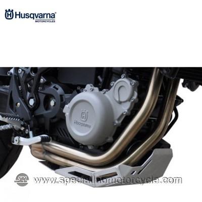 Piastra Paramotore Moto Ibex per Husqvarna Nuda 900/R Silver
