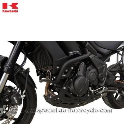 Piastra Paramotore Moto Ibex per Kawasaki Versys 650 Black