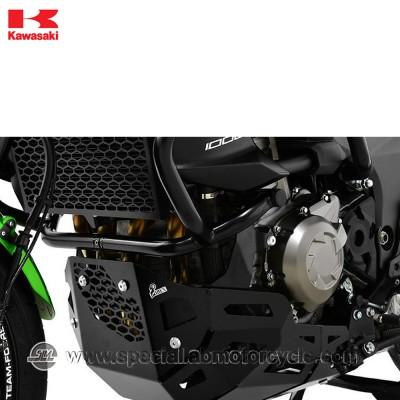 Piastra Paramotore Moto Ibex per Kawasaki Versys 1000 Black